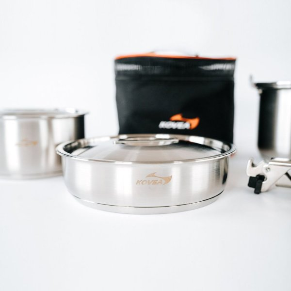 Kovea Triple Stainless Cookware 03 :: Allied Expedition