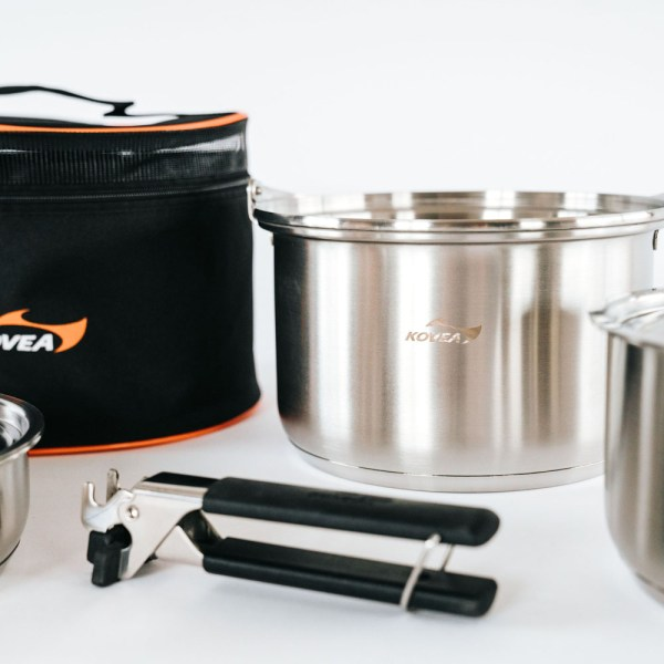 Kovea Triple Stainless Cookware 05 :: Allied Expedition