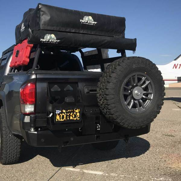 Tacoma AFN Rear Bumper 01 | 48002599 | Allied Expedition