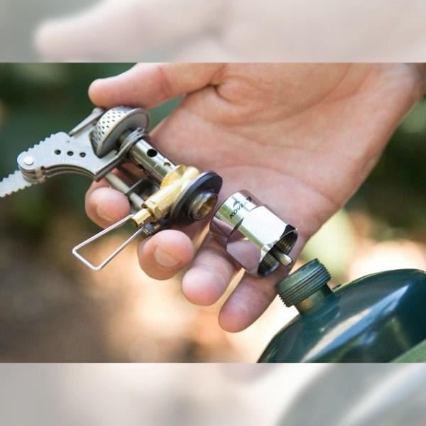 Kovea Brass LPG Adapter 04 :: Allied Expedition