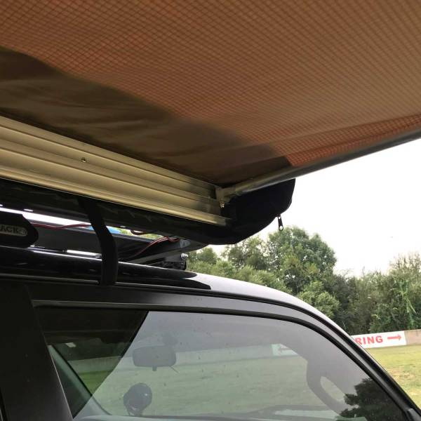 Retractable Roof Rack Awning :: 4Runner 02 :: Allied Expedition