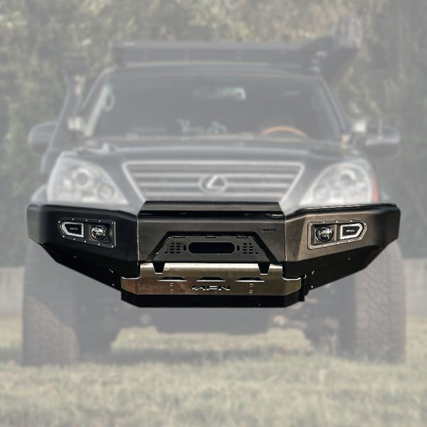 GX 470 AFN Front Bumper 04 :: 48002405 :: Allied Expedition