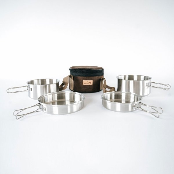 Kovea Mini Stainless Cookware | Complete | Allied Expedition