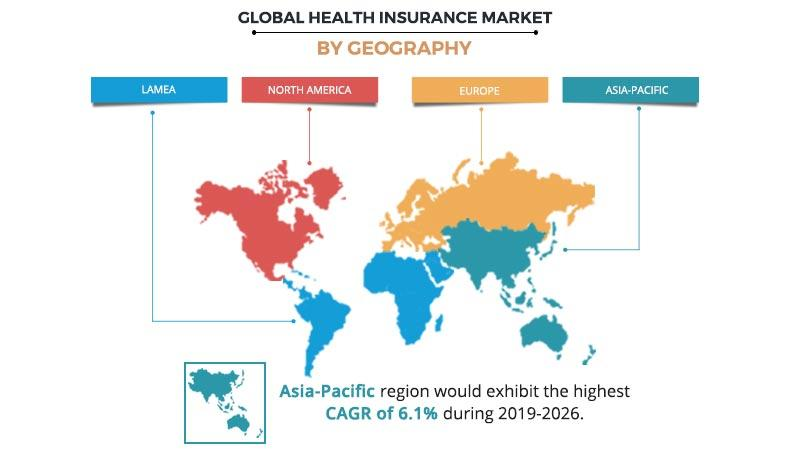 Health Insurance Market by Geography
