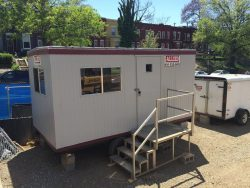 Learn why you should set up your IT department in an office trailer.