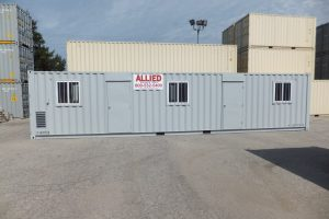 Learn about the many benefits of renting a storage unit container.