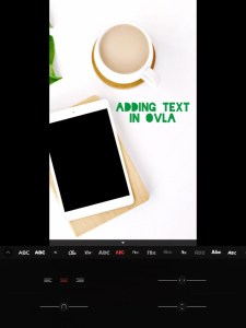 5 apps for gorgeous Pinterest graphics - font options in OVLA