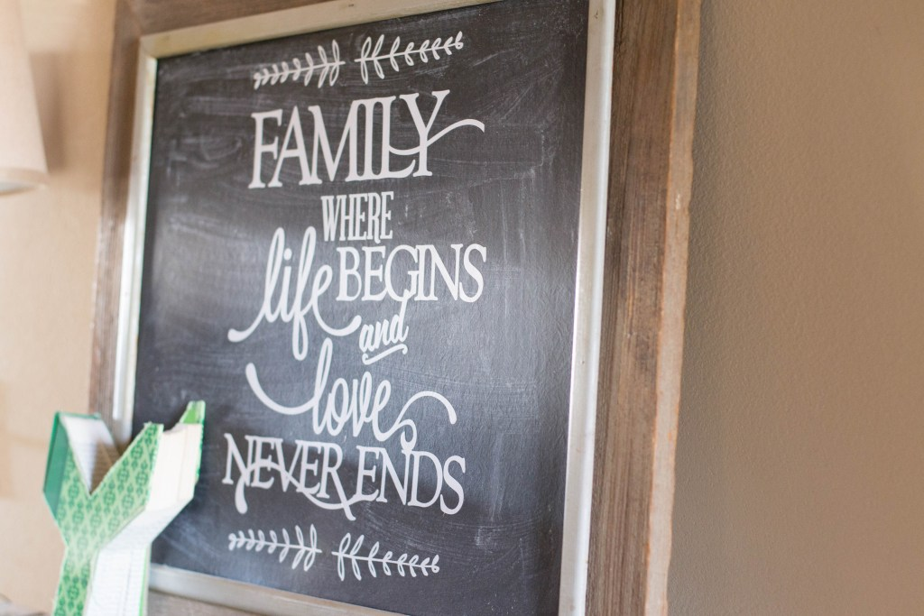 DIY Wooden Sign with Silhouette Cameo