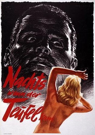 Nachts, wenn der Teufel kam. Filmplakat 1957