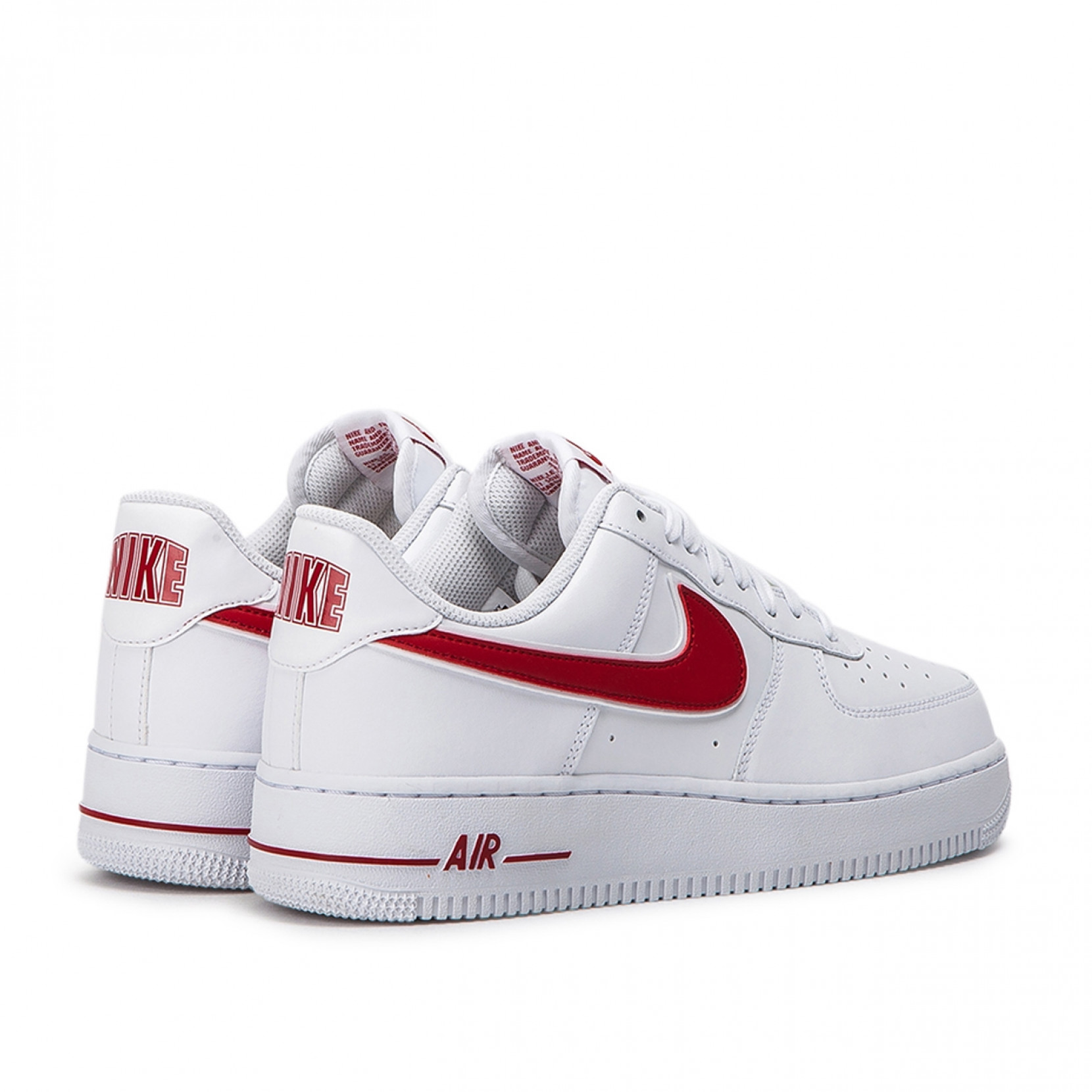 Nike Air Force 1 07 3 White Red