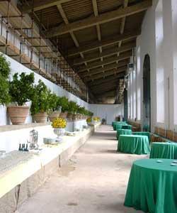 interne Limonaia Villa de Medici Boboli Tuinen