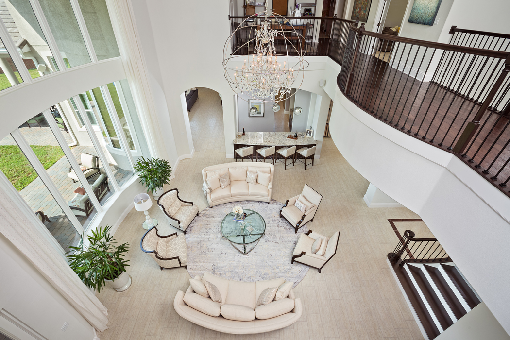 White Transitional Home