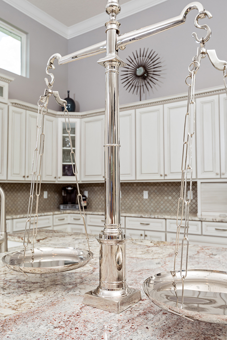 White Transitional Home 18