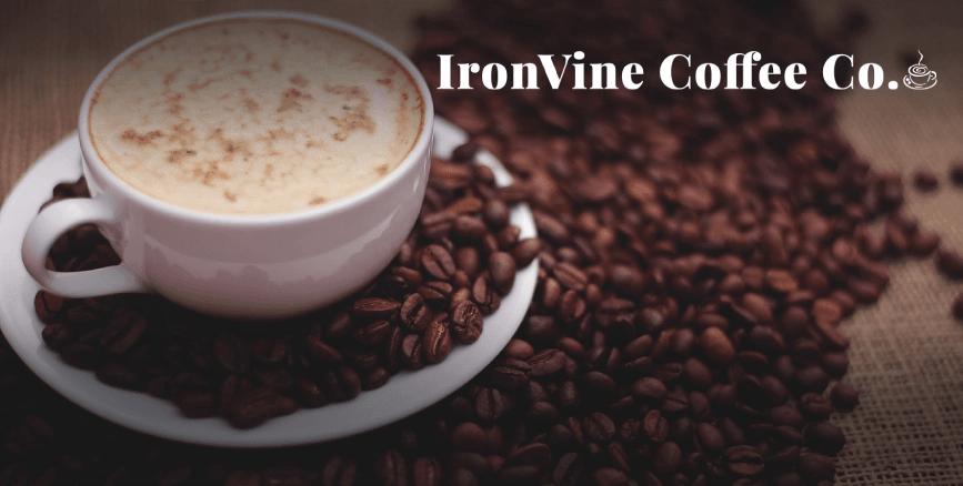 ironvine coffee logo thumbnail