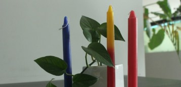 color candle clear1