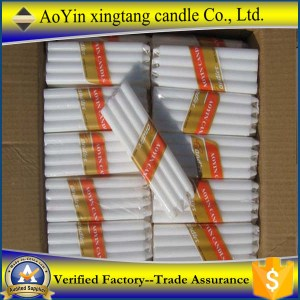 White Stick Candles