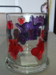 Gelly Glass Candle