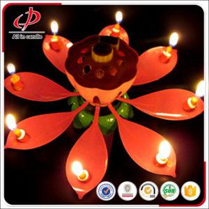 birthday flower candle