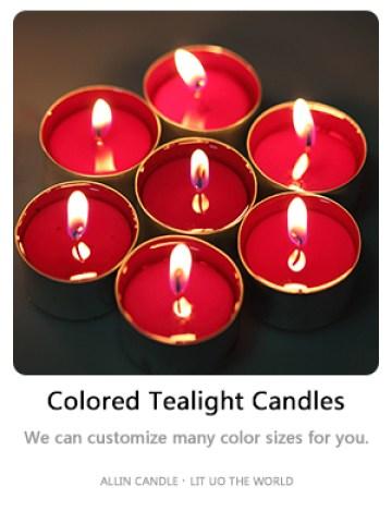 tea candles