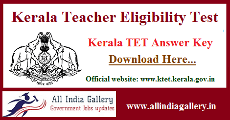 Kerala TET Answer Key