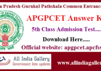 APGPCET Answer Key