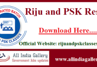 Riju and PSK Result