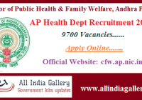 AP Health Dept Recruitment 2020