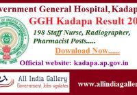 GGH Kadapa Result 2020
