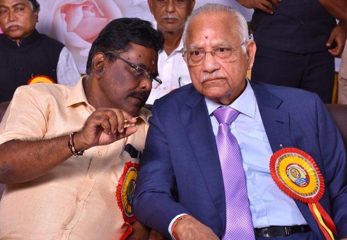 With P C Reddy Chairman Apollo
