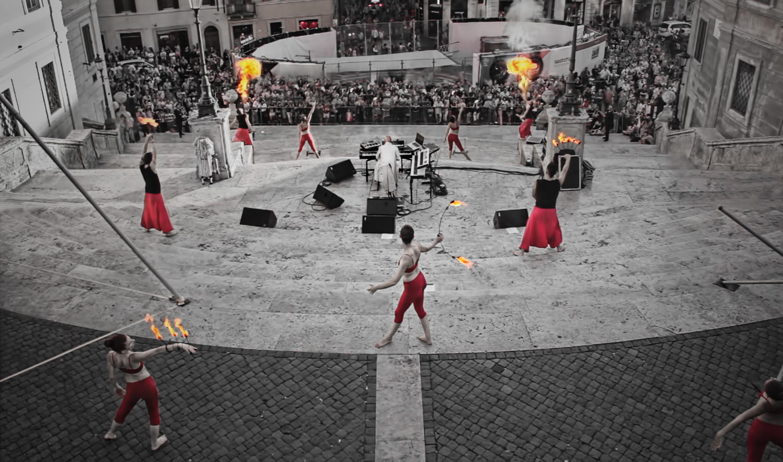 Toni Verde Piazza di Spagna 21 Giugno 2014