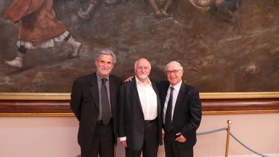 Goffredo Palmerini, Mario Fratti, Domenico Logozzo