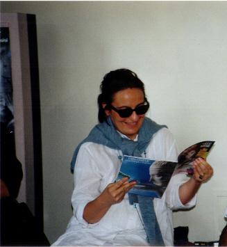 Natalia Di Iorio (foto di Gino Colombari)