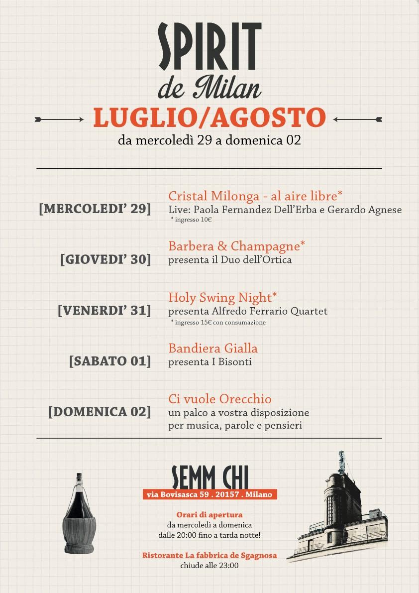 Locandina SPIRIT DE MILAN_29 luglio-2 agosto