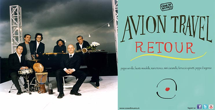 Avion Travel Retour