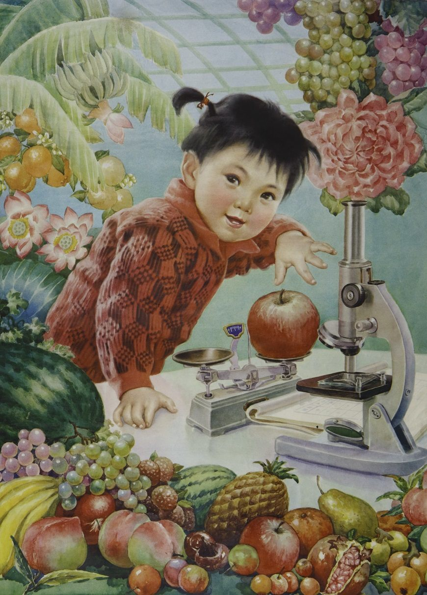 I want to be a scientist when I grow up_1982_Liaoning_Artist Sao Zuotang (1)