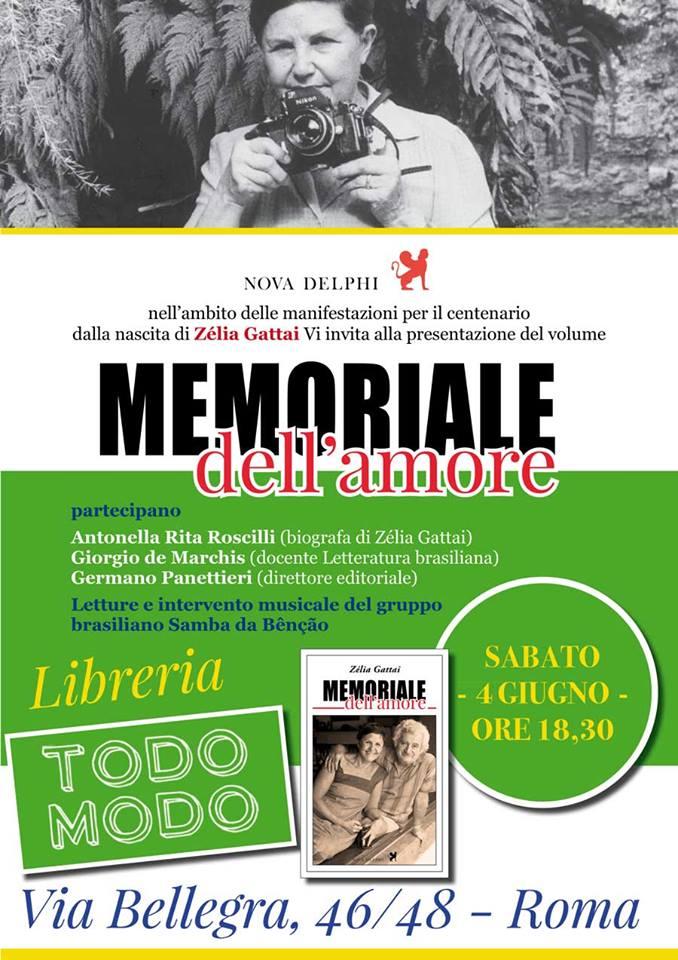 Locandina 4 giugno Libreria Todo Modo