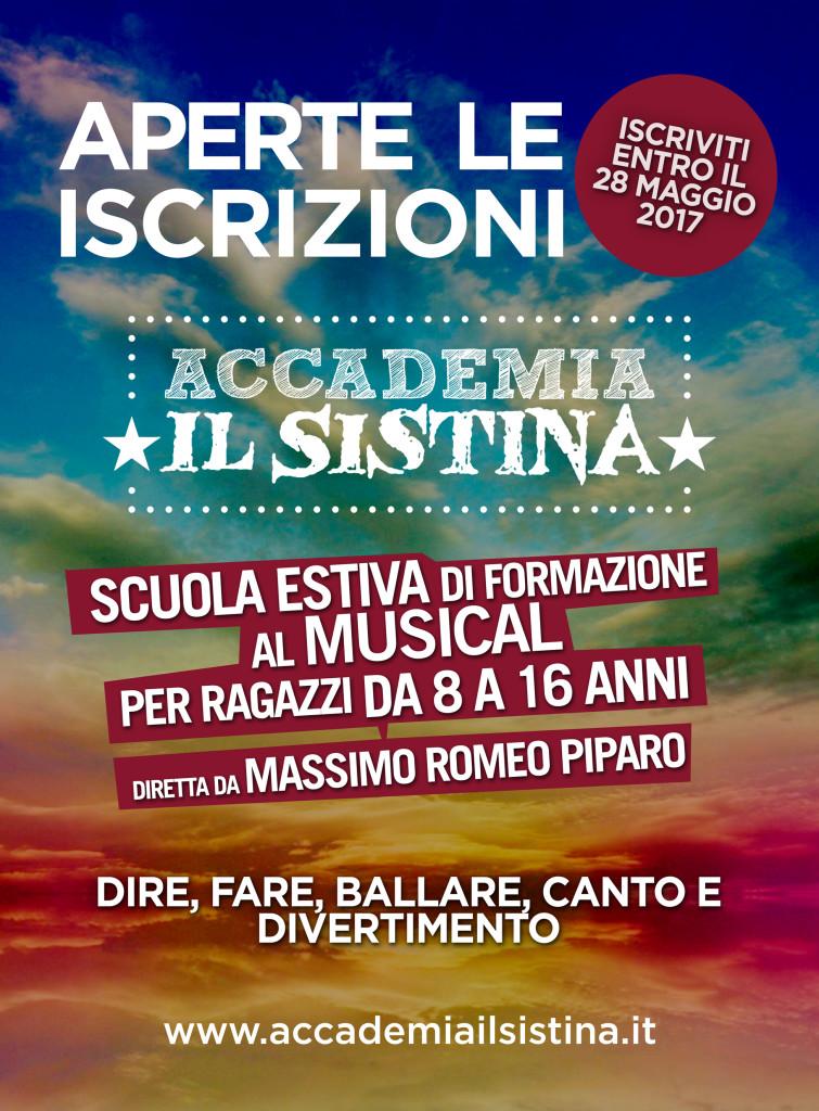 locandina Accademia il Sistina