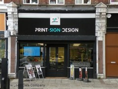 Print Sign Design 87 Cricklewood Broadway London Sign
