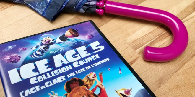 "Win ""Ice Age 5 collision course"" dvd & paraplu - AllinMam.com"