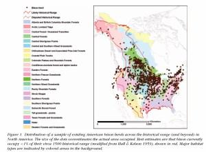 Historical Range of the Bison
