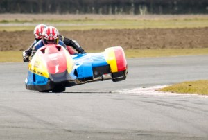 Motorcycle sidecar racing croft by allinsons photography