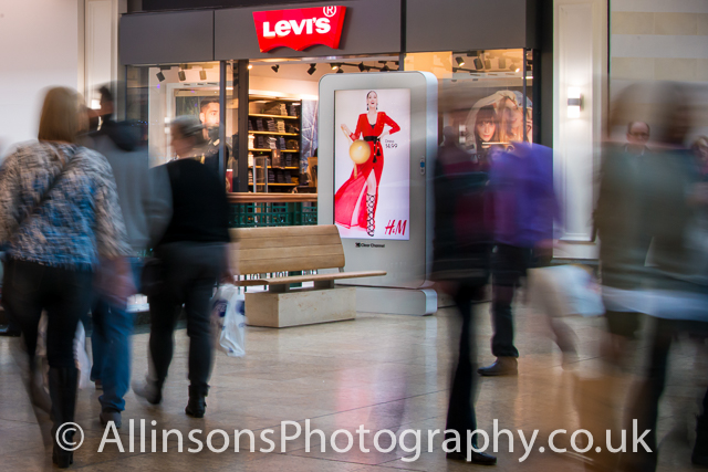shopping centre brands and footfall