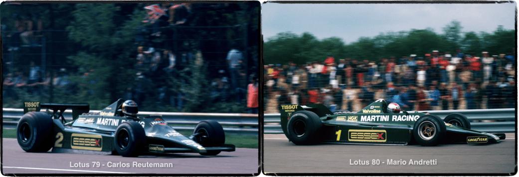Lotus 79, Lotus 80, Carlos Reutemann, Mario Andretti