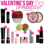 Valentine's Day Lip Products