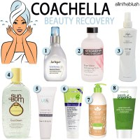 Coachella Beauty Recovery 2016