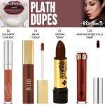 Kat Von D Plath Everlasting Liquid Lipstick Dupes