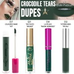 Jeffree Star Crocodile Tears Velour Liquid Lipstick Dupes