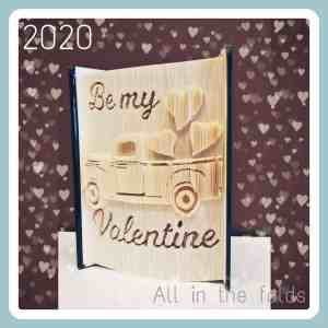 Be My Valentine Multi LAyer cut and fold pattern