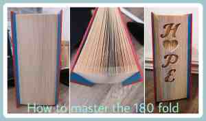 How to do the 180 fold cover