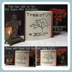 Tree two addon for super mini alphabets